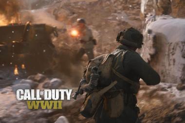 המשחק Call of Duty: World War 2 זמין להורדה מראש ב-Xbox One
