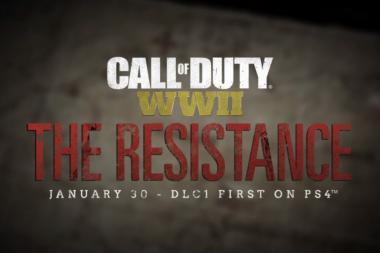 ההרחבה הראשונה של Call of Duty: World War 2 תגיע בינואר