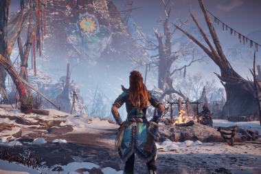 צפו ב-10 דקות של משחקיות מתוך Horizon Zero Dawn: The Frozen Wilds