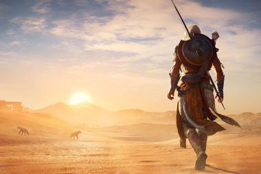 כמה גדולה המפה של Assassin's Creed: Origins?