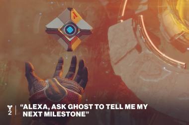 אמזון ו-Activision מחיות את מכשיר ה-Ghost של Destiny 2 לשימוש במשחק