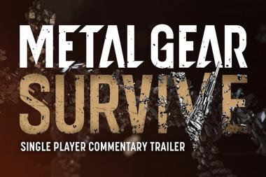 הבטא של Metal Gear Survive מגיעה ל- PS4 ול- Xbox One