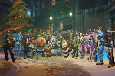 המשחק Overwatch מוצע בחצי מחיר לכבוד ה-Winter Events