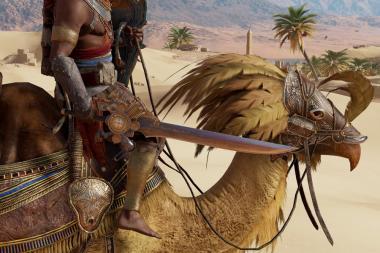 משימה חדשה ל-Assassin's Creed: Origins עושה כבוד ל-Final Fantasy