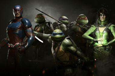 קבלו הצצה ראשונה לדמויותיהם של צבי הנינג'ה ב-Injustice 2