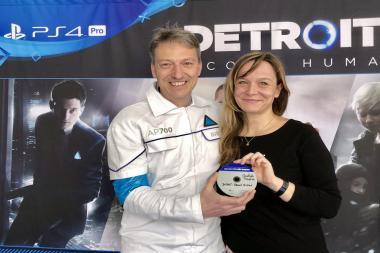 המשחק Detroit: Become Human הזדהב
