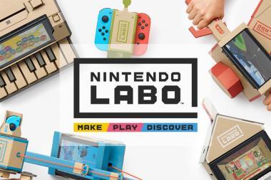 ביקורת - Nintendo Labo: Toy-Con Variety Kit 01
