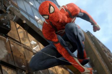 משחק הספיידרמן החדש ל-PS4 הזדהב