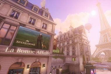 המפה החדשה ב-Overwatch לוקחת את השחקנים לטיול בפריז