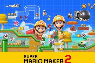 Super Mario Maker 2 הוכרז רשמית, יגיע ביוני