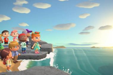 המשחק Animal Crossing New Horizons יתאים את העונה של המשחק לפי אזורכם