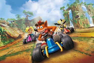 ביקורת: Crash Team Racing: Nitro-Fueled - שורף את הכביש