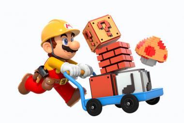 למעלה משני מיליון שלבים כבר נוצרו ב-Super Mario Maker 2