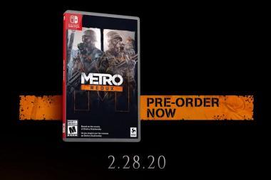 האם Metro: Redux צפוי להגיע לקונסולת ה-Switch? עדכון: כן.