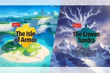 הוכרזו חבילות הרחבה למשחקי הפוקימון Pokemon Sword & Shield