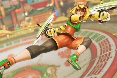 דמות ה-DLC הבאה של Super Smash Bros. Ultimate היא Min-Min מ-ARMS