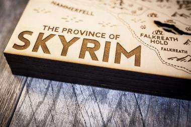 צפו ביצירות אומנות בהשראת Skyrim ו-GTA V