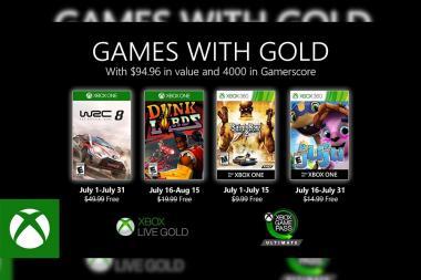 נחשפו משחקי Games With Gold של חודש יולי