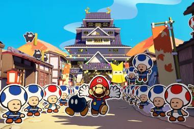 ביקורת: Paper Mario: The Origami King - פותחים דף חדש