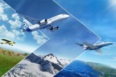 בואו לצפות בטיסה בשמי הארץ עם Microsoft Flight Simulator