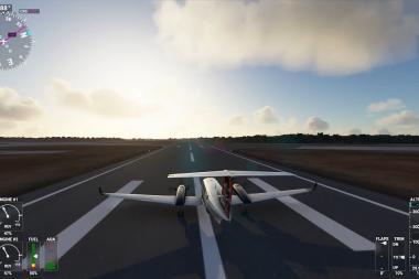 צפו בעוד כחצי שעה של טיסה ב-Microsoft Flight Simulator