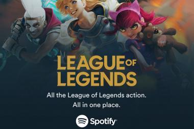 חברות Spotify ו-Riot Games מכריזות על שיתוף פעולה
