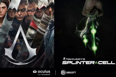 המשחקים Assassin's Creed ו-Splinter Cell מגיעים ל-VR