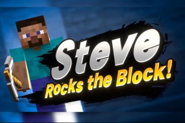 הדמות החדשה שמגיעה ל-Super Smash Bros. Ultimate היא Minecraft Steve!