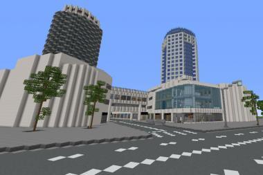 דיזינגוף סנטר חושפת את גרסת ה-Minecraft של המתחם