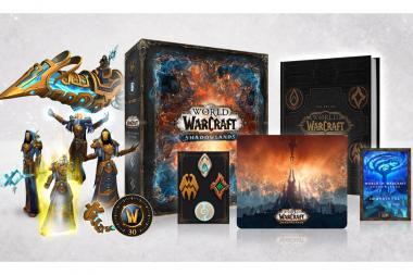 פתיחת מהדורת האספנים של World of Warcraft: Shadowlands