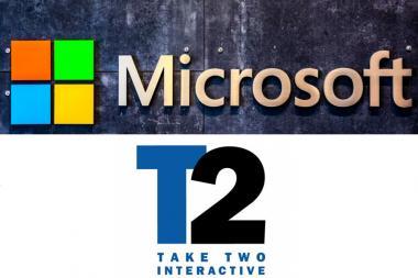 מיקרוסופט ו-Take Two רוצות לקנות עוד חברות משחקים