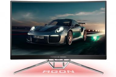 חברות AOC ו-Porsche Design חושפות מסך גיימינג משותף