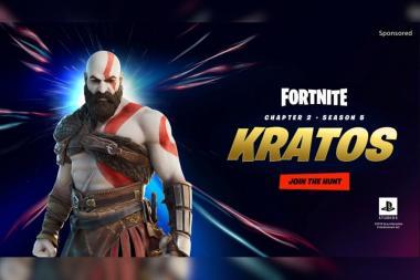 הדלפה: אל המלחמה, קרייטוס, מגיע ל-Fortnite