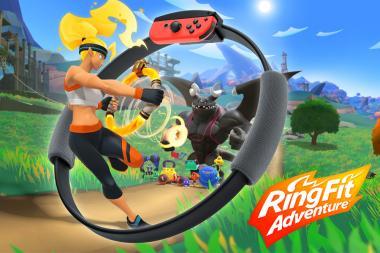 ביקורת: Ring Fit Adventure - תאמינו בתהליך