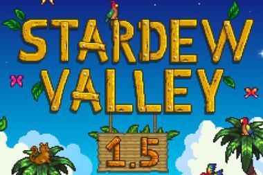 עידכון 1.5 עבור Stardew Valley שוחרר