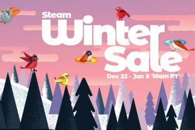 מכירת החורף של Steam החלה!