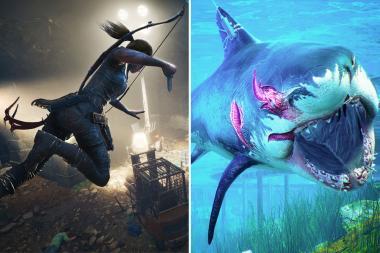 צפו ב-Maneater וב-Shadow Of The Tomb Raider על ה-PS5