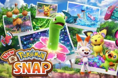 המשחק New Pokemon Snap יגיע באפריל הקרוב