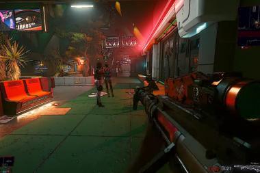 מוד חדש גורם ל-Cyberpunk 2077 להיראות כמו משחק Borderlands