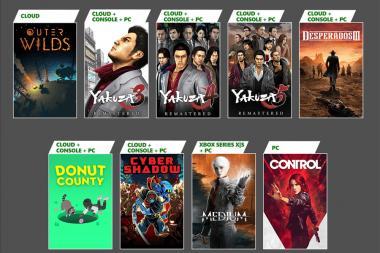 מנה שנייה: משחקים נוספים יצטרפו ל-Xbox Game Pass בינואר