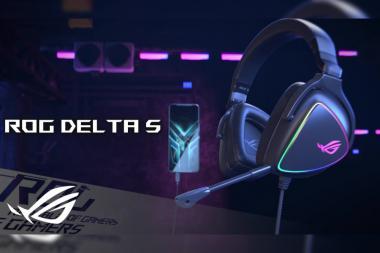 אסוס ישראל משיקה אוזניות חדשות: Asus ROG Delta S