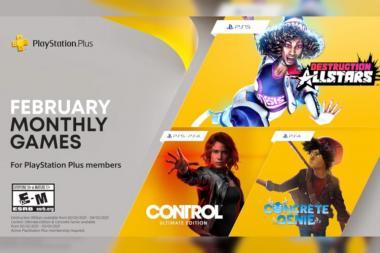 אלו המשחקים החינמיים שיגיעו למנויי PS Plus בפברואר