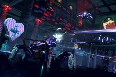 בואו לצפות ב-7 דקות של משחקיות מ-Watch Dogs: Legion - Spiderbot Arena!