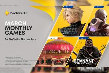 הוכרזו משחקי החודש של PS Plus לחודש מרץ