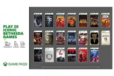 #התחלנו - 20 משחקי Bethesda יהיו זמינים ל-Xbox Game Pass ממחר