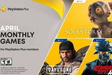 הוכרזו משחקי ה-PS Plus לחודש אפריל