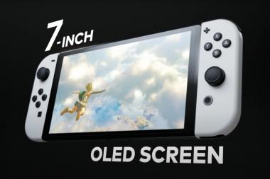 נינטנדו מכריזה על ה-Nintendo Switch (OLED model)