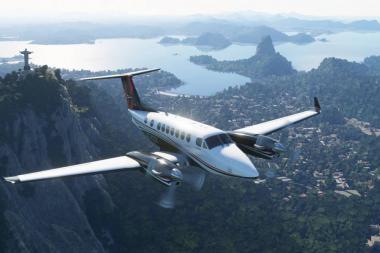 מותק המשחק התכווץ: Microsoft Flight Simulator יגיע לאקסבוקס בגודל 97GB