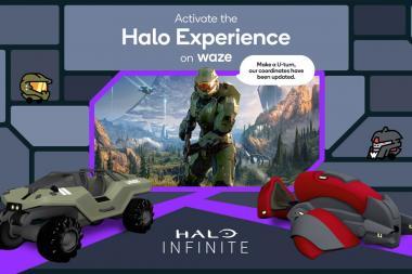 שיתוף פעולה מפתיע: Waze ו-Halo ילוו אתכם בדרכים