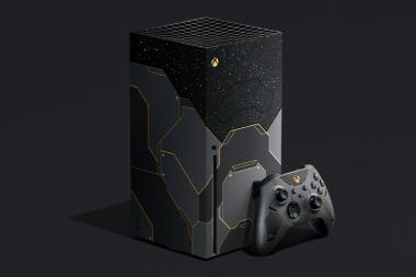 מייקרוסופט משיקה גרסא מיוחדת של Series X לכבוד Halo Infinite